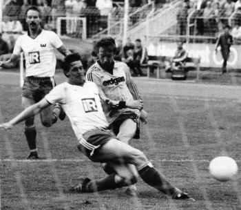 19870513 Göttingen 05 gegen VfL Wolfsburg, Krech