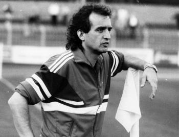 19870610 Göttingen 05, Trainer Charli Mrosko