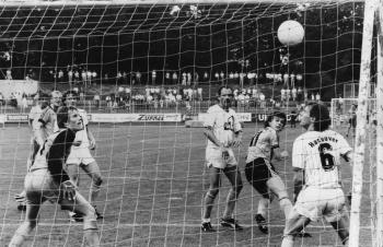 19870823 Göttingen 05 - Arminia Hannover 4-1, Becker