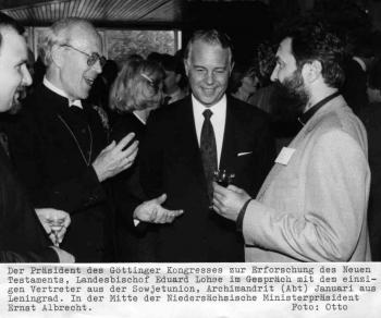 19870826 Kongress Albrecht, Lohse  Neues Testament