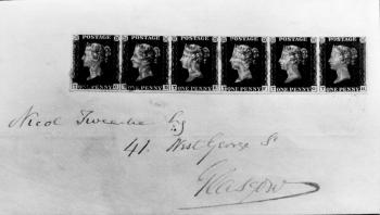 19880402 Älteste Briefmarke Walter