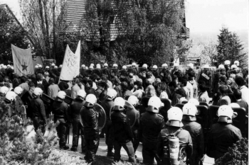 19880508 Demo Polacek in Mackenrode