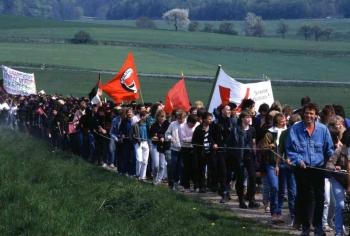 19880508 Demo Polacek, Mackenrode 1