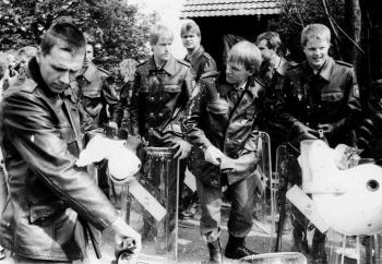19880508 Polizei bei Polacek