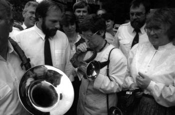 19880531_Süssmuth (CDU) Trompete in  Roringen