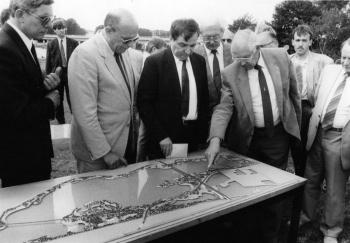 19880709 Minister Töpfer und Minister Ritz Northeimer Seenplatte
