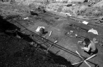 19880817 Ausgrabung Nikolaikirche 2