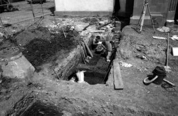 19880817 Ausgrabung Nikolaikirche 5