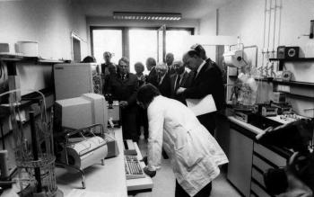 19890113 Forstliche Versuchsanstalt, Minister Ritz