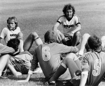 19890706 Trainer Mrosko Göttingen 05, neue Spieler