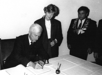 19891011 Weizsäcker in Duderstadt