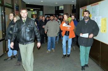 19891201 Demo gegen Gutscheine