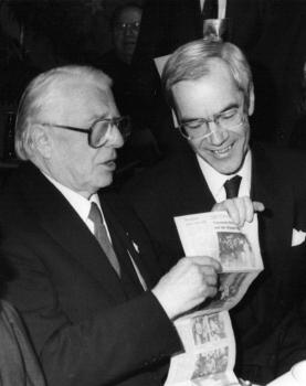 19891205 Landtagspräsident Blanke, Döring