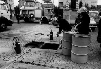 19900404 Hilfeleistung Tankstelle