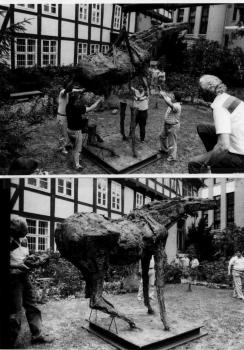 19900708 Museum Pferd