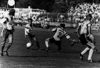 19900804 Fussball Göttingen 05 gegen HSV 1