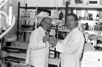 19900822 Krebspreis 1990 Eibl, Unger