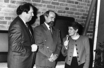 19901202 Bundestagswahl Süßmuth, Noack,Fischer
