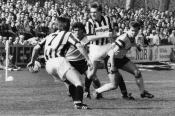 19910413 SVG gegen Göttingen 05, Bause