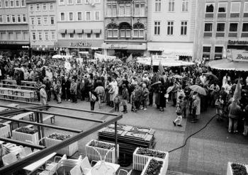 19910501 ÖTV Kundgebung Marktplatz, Hiller