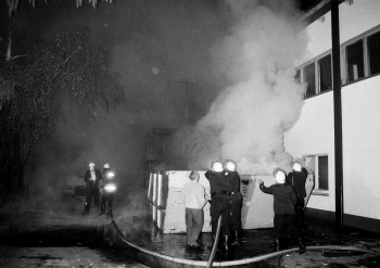 19910603 Feuer Spänebunker Geismar 1