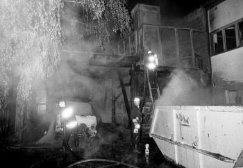 19910603 Feuer Spänebunker Geismar