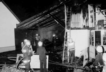 19910614 Feuer Tischlerei Geismar 1