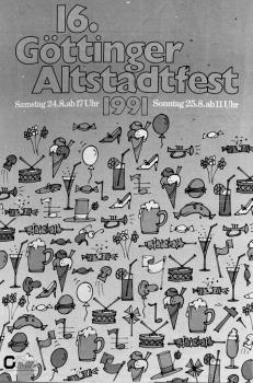 19910824 16. Göttinger Altstadtfest