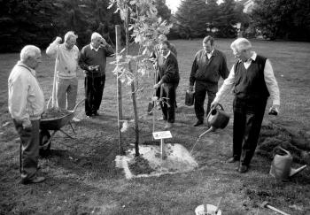 19910920 MTV Geismar Kirmes Baumpflanzung
