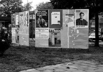 19911005 Kommunalwahl Wahlplakat
