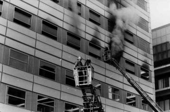 19911210 Feuer Klinikum 1
