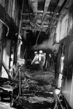 19911210 Feuer Klinikum 4
