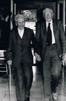 19920421 Prof. Hund, Prof. Hecht