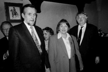 19930122 FDP Empfang Wolfgramm, Leutheuser, Spangenberg
