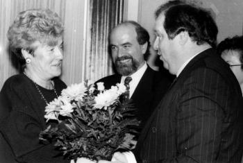 19930224 Barbara Mecke übernimmt Stadtverband CDU