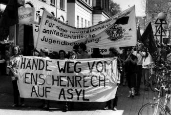 19930426 Demo Asyl