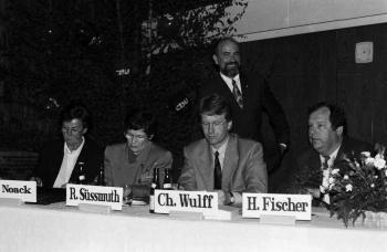 19930426 Süssmuth, Wulff, Noack, Fischer