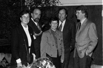 19930426 Süssmuth, Wulff, Noack, Fischer, Hansen