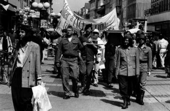 19930509 Demo gegen Krieg in Bosnien 1