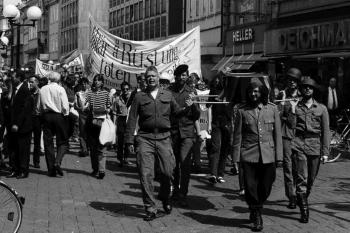 19930509 Demo gegen Krieg in Bosnien