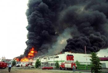 19930519 Feuer Einkaufszentrum Bovenden 4