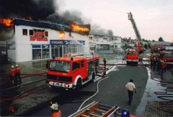 19930519 Feuer Einkaufszentrum Bovenden 6