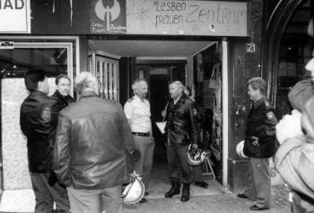 19930810 Räumung Lesbenzentrum