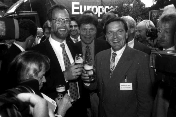 19930810 SPD Gleichen Scharping,Schröder