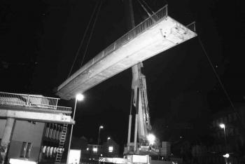 19930906 Abriss IDUNA Brücke