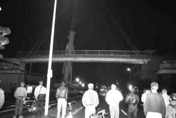 19930906 Abriss IDUNA Brücke 2