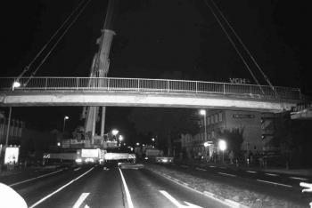 19930906 Abriss IDUNA Brücke 3