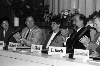 19930912 Süssmuth (CDU) 3. Mal Bundestag 1