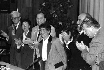 19930912 Süssmuth (CDU) 3. Mal Bundestag