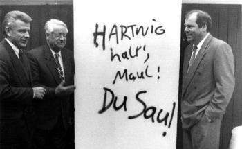 19931114 Asäuer, Hasselmann, Fischer Geburtstag